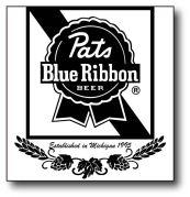 pats blue ribbon